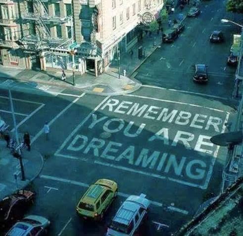 yer dreamin